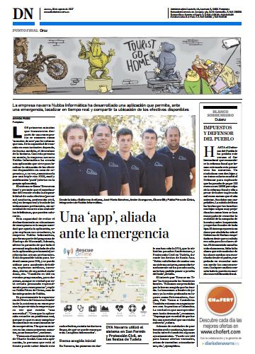 Diario de Navarra Rescue OnTime